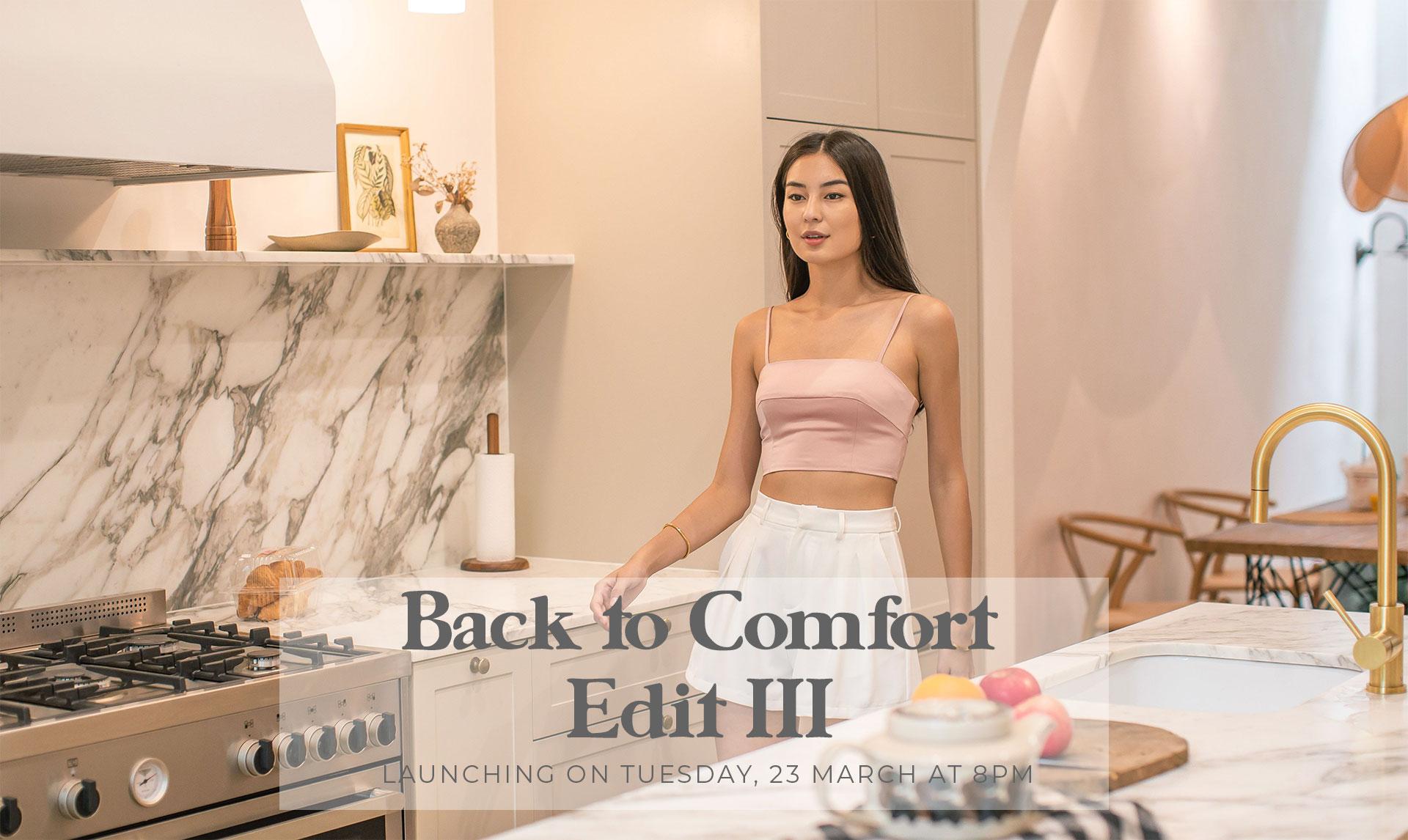Back to Comfort: Edit III
