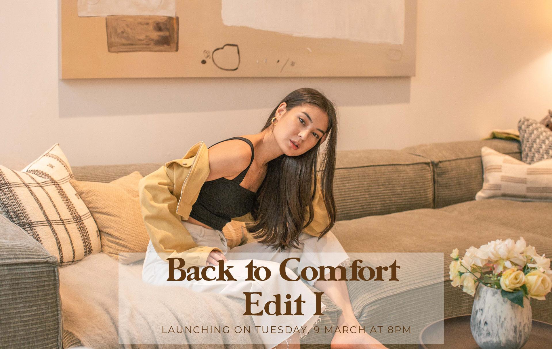 Back to Comfort: Edit I