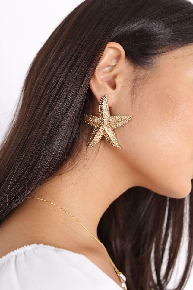 ASTERINA STARFISH EARRINGS