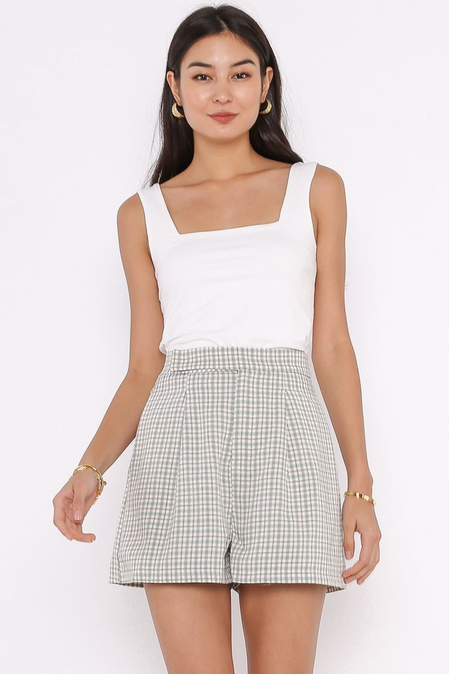 SANDY SQUARE NECK TOP (WHITE)