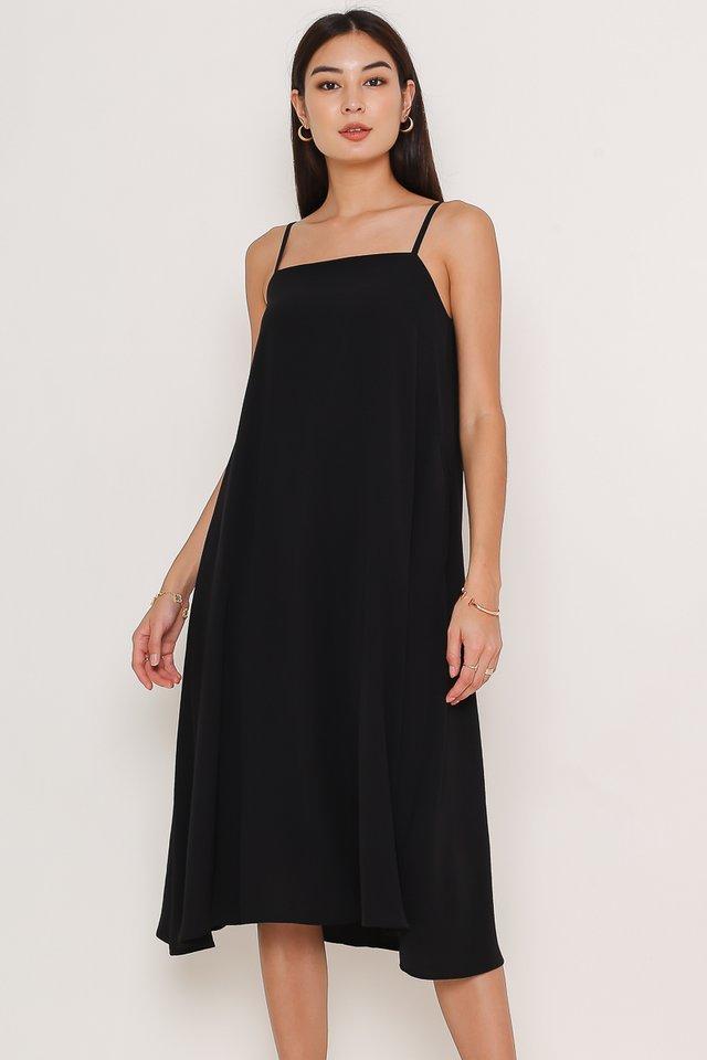 TALLULA TENT DRESS (BLACK)