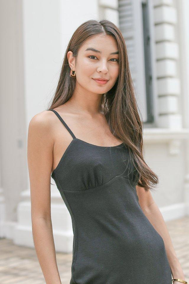 KENDRA KNIT DRESS (BLACK)