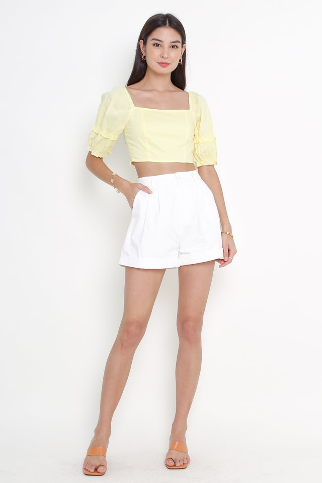 FAWN FRILL TOP (YELLOW)